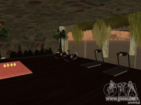 Club auf dem Wasser für GTA San Andreas fünften Screenshot