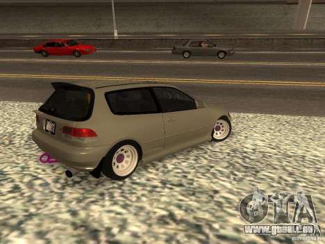Honda Civic EG6 JDM für GTA San Andreas linke Ansicht