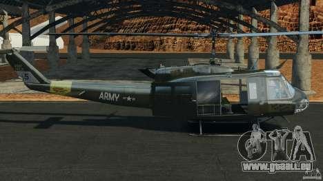 Bell UH-1 Iroquois für GTA 4 linke Ansicht