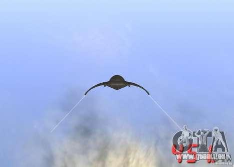 Indicateur de vitesse numérique pour GTA San Andreas deuxième écran