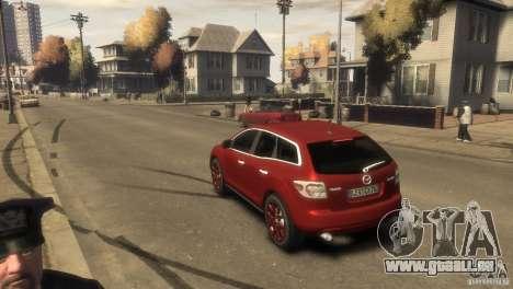 Mazda CX-7 für GTA 4 rechte Ansicht
