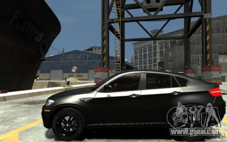 BMW X6 M pour GTA 4 est une gauche