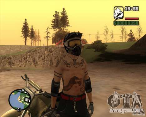 Der Racer des Kraftstoffs für GTA San Andreas