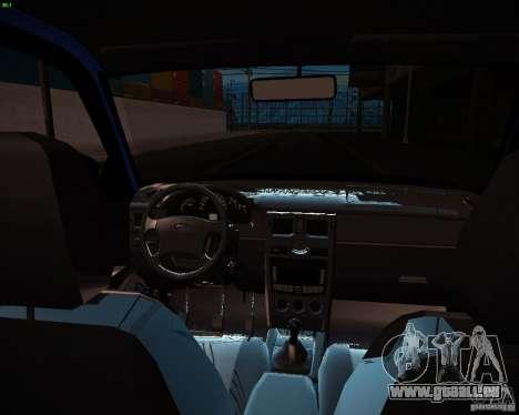 VAZ-2172 Restajl pour GTA San Andreas vue de côté