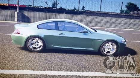 BMW M6 v1.0 für GTA 4 Seitenansicht