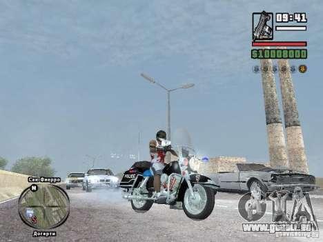 Helmet mod pour GTA San Andreas