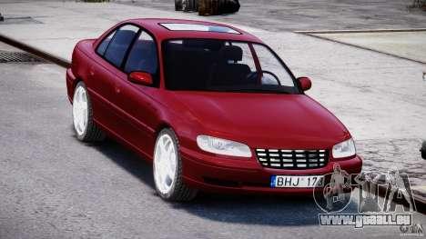 Opel Omega 1996 V2.0 First Public für GTA 4 Rückansicht