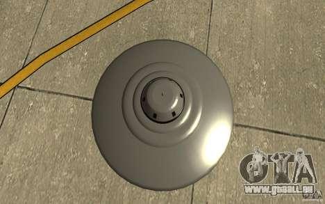 Bob Lazar Ufo für GTA San Andreas rechten Ansicht