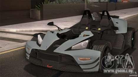 KTM-X-Bow für GTA San Andreas Motor