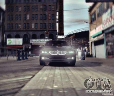 BMW 335i Coupe pour GTA 4 est une vue de l'intérieur