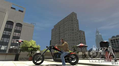 The Lost and Damned Bikes Diabolus pour GTA 4