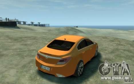 Opel Insignia OPC 2010 pour GTA 4 est un droit