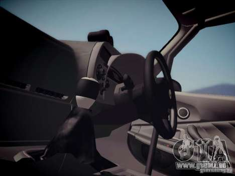 Honda S2000 JDM Dirft pour GTA San Andreas vue arrière