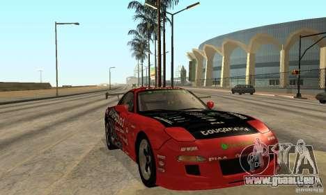 Mazda RX-7 FD3S für GTA San Andreas Rückansicht