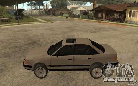 Audi 100 C4 1992 pour GTA San Andreas laissé vue