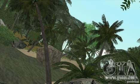 Tropische Insel für GTA San Andreas dritten Screenshot