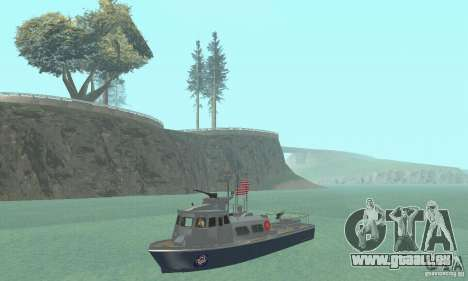 Coast Guard Patrol Boat für GTA San Andreas