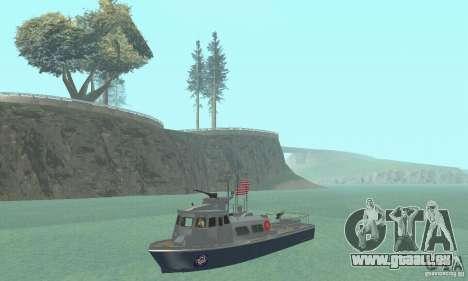 Coast Guard Patrol Boat pour GTA San Andreas