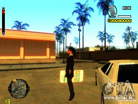 IPhone Granate v1 für GTA San Andreas