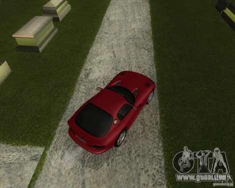 Dodge Viper GTS Coupe pour GTA San Andreas sur la vue arrière gauche