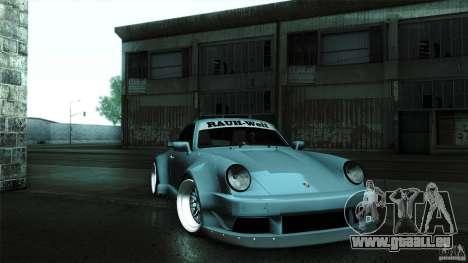 Porsche 911 Turbo RWB DS pour GTA San Andreas vue de droite