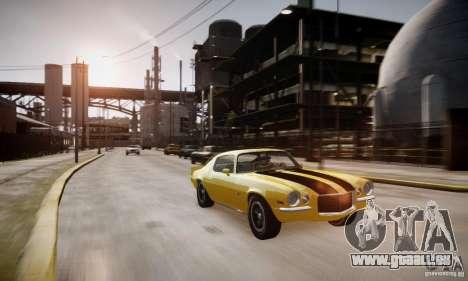 Chevrolet Camaro Z28 pour GTA 4 est un côté