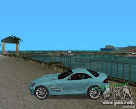 Mercedess Benz SLR Maclaren pour une vue GTA Vice City de la gauche