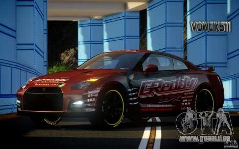 Nissan GT-R Black Edition GReddy für GTA 4