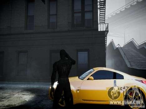 Spider Man Black Suit für GTA 4 Sekunden Bildschirm