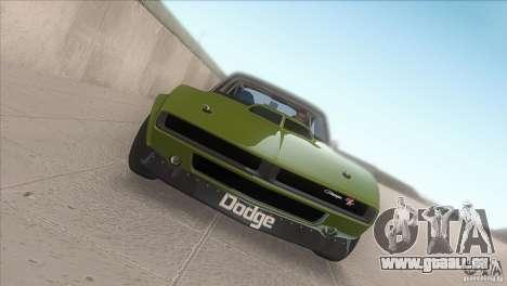 Dodge Charger RT SharkWide für GTA San Andreas Innenansicht
