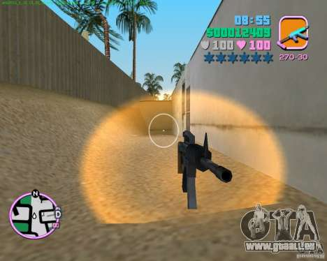 M4 von Counter Strike Source für GTA Vice City zweiten Screenshot