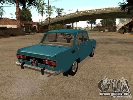 2140 AZLK v2 pour GTA San Andreas sur la vue arrière gauche