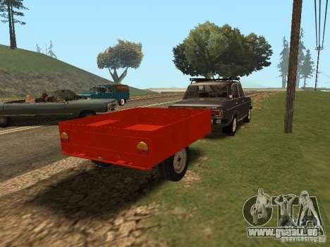 MMW 81021 pour GTA San Andreas sur la vue arrière gauche