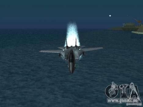 F-14 pour GTA San Andreas vue de droite