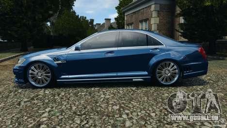 Mercedes-Benz S W221 Wald Black Bison Edition pour GTA 4 est une gauche