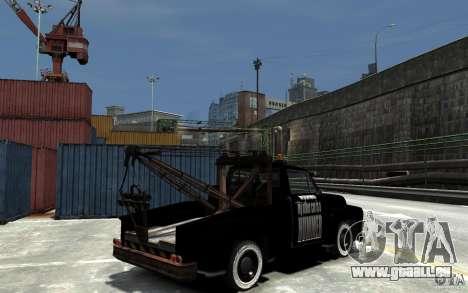 Black Towtruck für GTA 4 rechte Ansicht