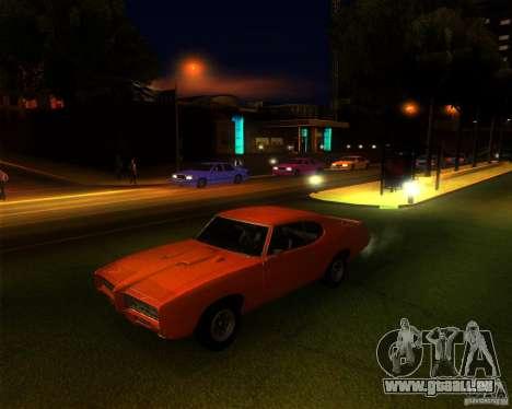 Pontiac GTO 1969 pour GTA San Andreas
