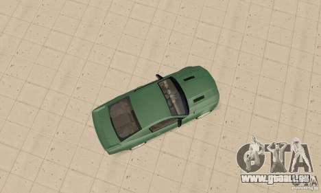 Saleen S281 v2 pour GTA San Andreas vue arrière