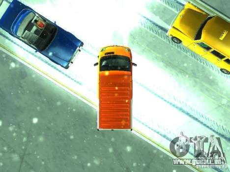 Vauxhall Vivaro v1.1 TNT pour GTA San Andreas vue arrière