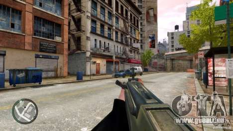 Tavor TAR-21 pour GTA 4 cinquième écran