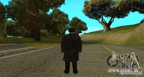 Vito Corleone pour GTA San Andreas deuxième écran