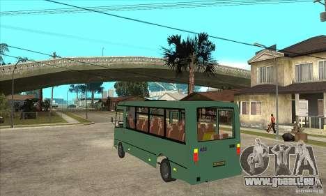 GROOVE-3203 für GTA San Andreas zurück linke Ansicht