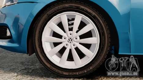 Volkswagen Voyage G6 2013 pour GTA 4 Vue arrière