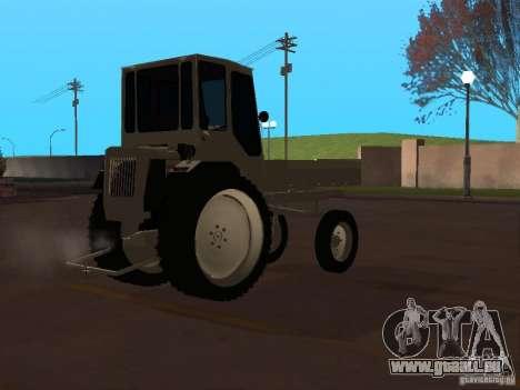 Traktor T16M für GTA San Andreas rechten Ansicht