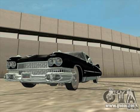 Cadillac Eldorado 1959 für GTA San Andreas rechten Ansicht