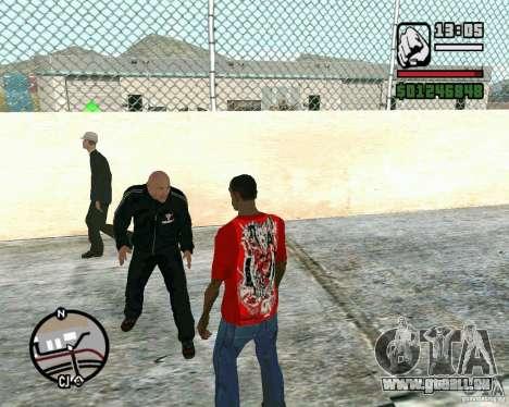 Dwayne The Rock Johnson für GTA San Andreas zweiten Screenshot