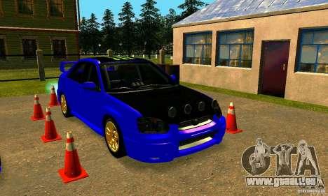 Subaru Impreza WRX Rally pour GTA San Andreas