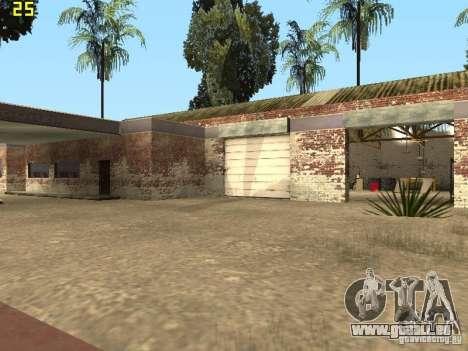 Service de voiture près de Grove pour GTA San Andreas cinquième écran
