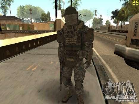 Combattre les soldats de CoD : Mw2 pour GTA San Andreas