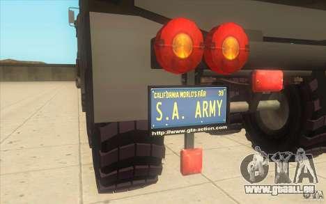 IFA 6x6 Army Truck pour GTA San Andreas vue de droite